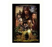 Pirates of the Caribbean Poster Art Print