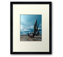 It Fell to Earth Framed Print