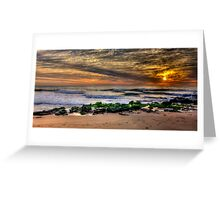 Glory - Warriewood Beach , Sydney (30 Exposure HDR Panoramic) The HDR Experience  Greeting Card