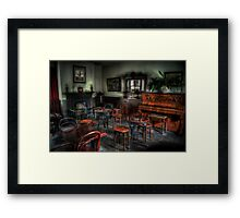 Bottle & Glass Inn Framed Print