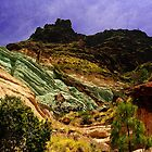 Multicoloured Mountain by Rob Hawkins