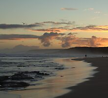 Waitpinga Sunset by Ben Loveday