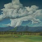 Thunderhead Over Lansdowne by louisegreen