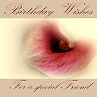 Special Friend Card. by Aj Finan