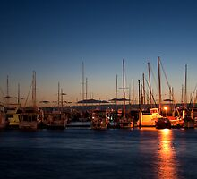 Night Berth - Hillarys Boat Harbour by GerryMac