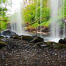 Behind The Waterfall by Jim Wilson