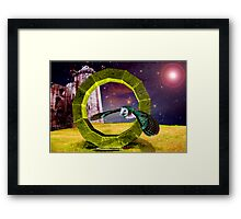 Heaven on Earth.. Framed Print