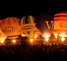 Bristol Balloon Fiesta  by DIANE  FIFIELD