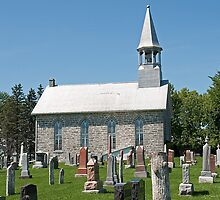 Kenyon Presbyterian Church, Dunvegan. 1880. by Mike Oxley
