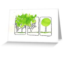Mental state of mind Greeting Card