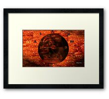 Wake Up To Reality!!! Framed Print
