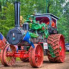 110 hp Case Steam Tractor by ECH52