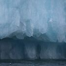 Ice Cathedral in Burgerbukta by John Dalkin