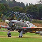 Hurricane Vortex - Shoreham Airshow 2010 by Colin J Williams Photography