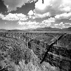 Gorge Bridge Taos NM by Gordon Lukesh