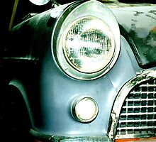 Dusty Car headlight by PetchusMaximus