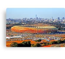 SoccerCity / FNB Stadium Johannesburg Canvas Print