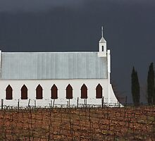 Chapel in the vineyards by Etwin