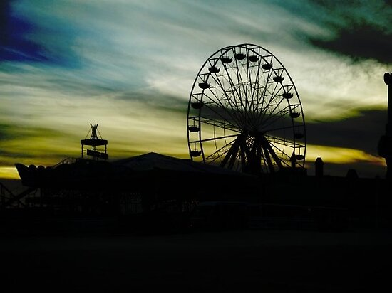 Ferris Wheel by ericafaye