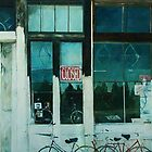 Bike Shop (Closed) by Kirt Hardcastle