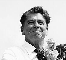 Ronald Reagan by Steven Huszar