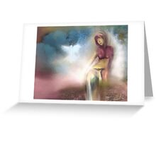 Sanctuary - Into the Light Greeting Card