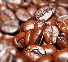 Crowded House of Coffee Beans  by mandyemblow