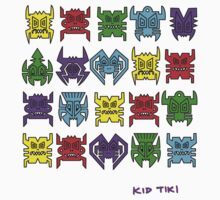 Tiki Invaders by KIDTIKI