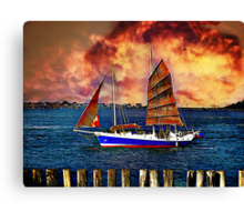 Take me for the ride Canvas Print