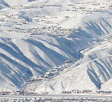 Snowy Hills by emjaynie