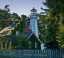 Port Sanilac lighthouse by cherylc1