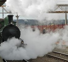 Steam Loco Y 112 On The Platform by judygal