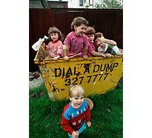 Neighbourhood Clean Up Day Photographic Print