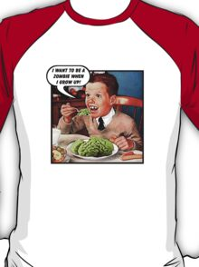 Little Tommy Always Eats His Greens! T-Shirt