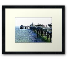 The Pier -Llandudno -North Wales Framed Print