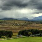 Rain On The Cairngorms by VoluntaryRanger