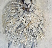 Swaledale Ewe by Sue Nichol