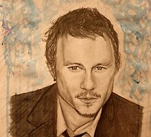 Heath Ledger by essenn