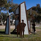 The Memorial - Bonegilla 1955 by Hans Kawitzki