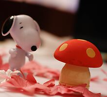 Mushroom for the penguins!!! by Iuliana Evdochim