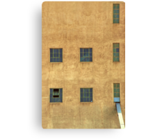 Window blocks Canvas Print