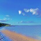 Dreamy Beach by James Brotherton