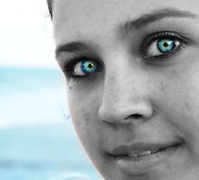Blue Eyed Girl by ericafaye