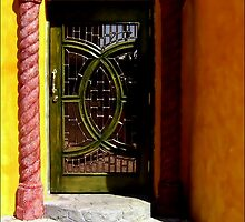 The Prettiest Door in Juarez by paintingsheep