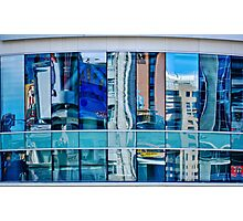 Reflected on the Eaton Centre, Toronto, ON, Canada Photographic Print