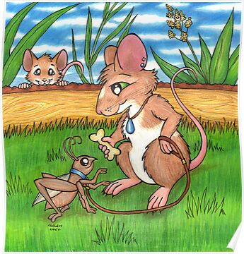 The Cricket Trainer - A Mouse's Pet by CGafford