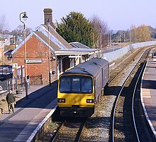 Crediton Station by Rob Hawkins