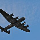 Lancaster Bomber fly over by Andicurrie