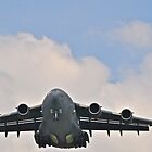 C-17 on final approach  by Andicurrie