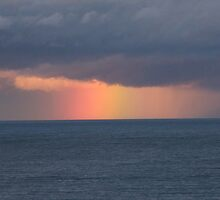 Rainbow at Sea by TREVOR34